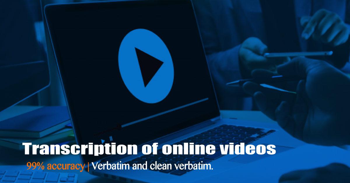 Video Transcription | TranscribeYA  99% accuracy