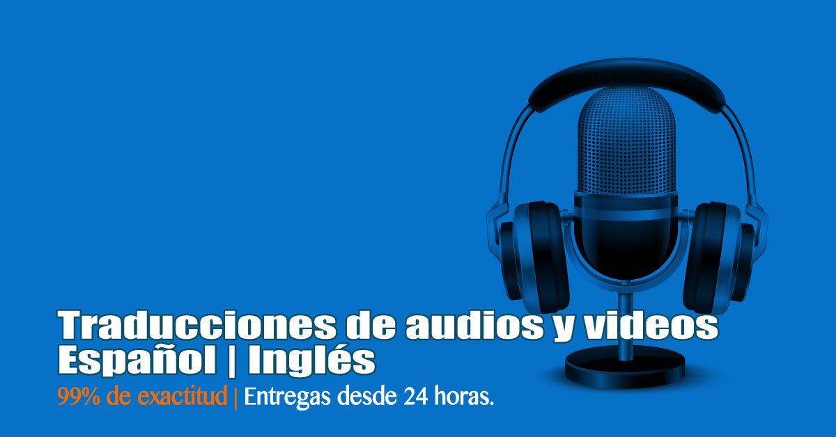 Audio and video translation service | Spanish and English